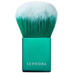 SEPHORA+PANTONE UNIVERSE Color Sculpting Kabuki Brush - $18 #SephoraPantone #Emerald #ColoroftheYear @PANTONE COLOR