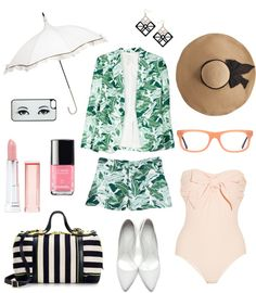floral pattern polyvore for women in early autumn #floral #women #chic