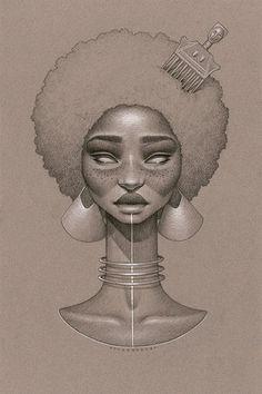 Área Visual - Blog de Arte y Diseño: Los dibujos de Sara Golish