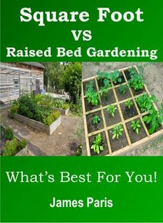 Square Foot Gardening Vs Raised Bed Gardening - What's Best For You! Vegetable Growing In Small Spaces - Summary Book by James Paris, http://www.amazon.com/dp/B00HXW59PY/ref=cm_sw_r_pi_dp_DAR3sb1Y0A3FD