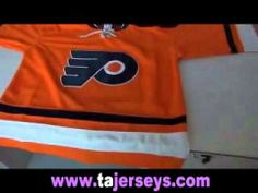 Philadelphia Flyers 17# Jeff Carter orange jersey Christmas gift hot wholesale on tajerseys.com
