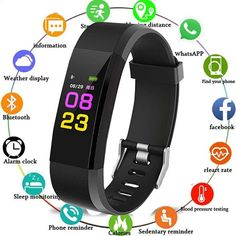 🥇Buy Watches ✅ 2019 Sport Bracelet Watch Women Men LED Waterproof Smart Wrist Band Heart rate Blood Pressure Pedometer Clock For Android iOS ~ smart watch sport watch Sport Watches, Watches For Men, Things To Buy, Stuff To Buy, Latest Fashion Clothes, Blood Pressure, Smart Watch, Bracelet Watch, Band