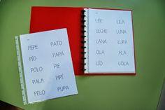 Para que los niños que trabajan principalmente con el método de lectura global tengan su propia cartilla de lectura y puedan utilizarla e...