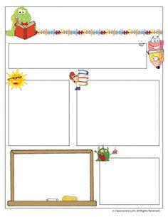 Free Editable Teacher Newsletter Template SCHOOLWriting - Free editable newsletter templates for teachers