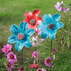 Strandblüten zum Aufstäben #PotteryClasses