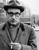 William Burroughs 222 Bowery  In 1974, after years of living in Paris and London, Allen Ginsberg gained for Burroughs a contract to teach creative writing at the City College of NY. Burroughs successfully withdrew from heroin use and moved to NY. found apartment, affectionately dubbed 'The Bunker' at 222 Bowery...partially converted YMCA gym, complete with lockers and communal showers. shared this space with the painter, Mark Rothko. also where painter Ferdinand Leger had his studio in…
