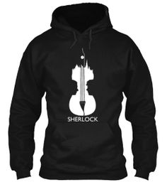 New Improved Sherlock Violin T-Shirt
