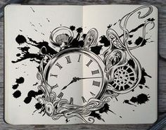 #168 I'm outta time by 365-DaysOfDoodles