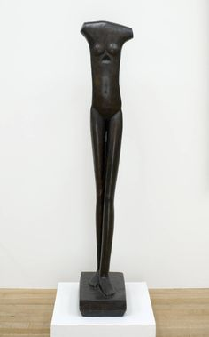 Giacometti: Walking Woman. Bronze 1933. Walking Woman I  AGD 317  Creation date 1932 (version of 1936)  Technique Bronze  Dimensions 59,17 x 10,90 x 15,11 in.  Edition number Épreuve d'artiste  Date of casting 1972  Foundry R. Fiorini et J. Carney founders  Collection Fondation Alberto et Annette Giacometti Surrealism - Fragmenting & Fetishisizing
