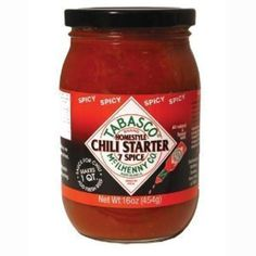 Tabasco Seven Spice Chili Spicy Chili Starter, 16 oz. (Pack of 3) by TABASCO brand -- Awesome products selected by Anna Churchill