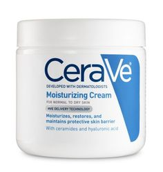 MOISTURIZER FOR DRY SKIN- CeraVe Moisturizing Cream. When we ask top dermatologists which cleansers, creams, and skin care treatments are the best, these brands come up again and again. Moisturizer For Dry Skin, Oily Skin, Sensitive Skin, Organic Skin Care, Natural Skin Care, Natural Beauty, Au Natural, Natural Face, The Draw
