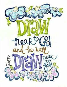 James 4 Draw near to God SCripture Art Bible verse art Christian ARt Christian Gift Art by Erin Leigh Scripture Wall Art, Bible Verse Art, Bible Verses Quotes, Bible Scriptures, Scripture Crafts, Inspirational Scriptures, Scripture Journal, Prayer Journals, Journal Quotes