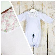 ¿Divinos para dormir? Si!! Con este pelele en terciopelo rosa o azul con motivo de ciervos en tallas 1-18 meses a 21,34€, ya disponible: www.lesbebes.es #babystyle #baby #modainfantil #bebe