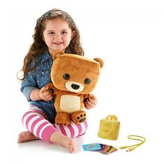 The talking Smart Toy Bear from Fisher-Price can take your child on (imaginary) adventures right in your own home.