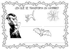 Mi grimorio escolar: ¿EN QUÉ SE TRANSFORMA UN VAMPIRO?