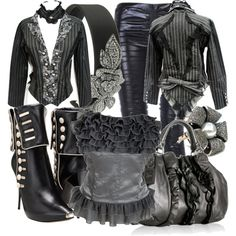 Victorian Jacket, created by fashionmefabulous on Polyvore