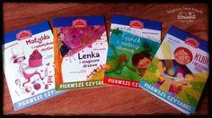 """""""Pierwsze czytanki"""" to seria, która pomoże waszym dzieciom doskonalić umiejętność samodzielnego czytania. Polecam! http://magicznyswiatksiazki.pl/ksiazeczki-do-nauki-samodzielnego-czytania/"""