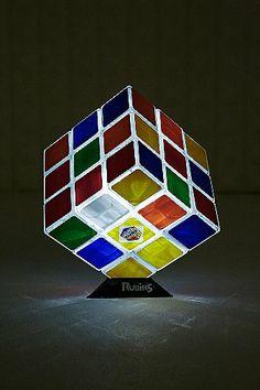 Rubik's Cube Lamp - Urban Outfitters