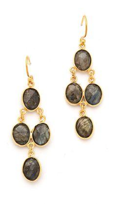 Chan Luu Stone Drop Earrings