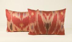 Antique Ikat Pillow