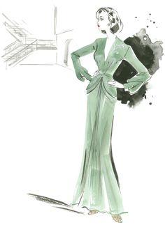 Die Mode der 40er Jahre aus  ALLIED – VERTRAUTE FREMDE: Ab 22. Dezember im Kino. Mit Brad Pitt, Marion Cotillard, Jared Harris, Lizzy Caplan und Matthew Goode.#VintageFashion #Retro #Fashion