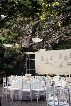 """Decoracion de jardines para casamiento - Jardín  """"Sunday Afternoon"""" by  Vicky Dorignac + 8678b88aa4c"""