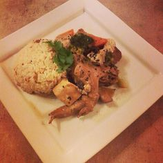 Slow Cook Thai Spice Chicken with Flavoured Jasimn Rice  cook.to.the.rescue@gmail.com