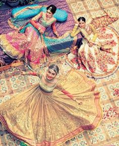 An amazing collection of photographs of the latest bridal lehenga designs and styles for Bangladeshi, Indian and Pakistani brides.