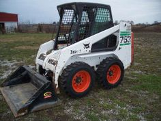 10 Best Skid Steers Images Skid Steer Loader Heavy Equipment Bob Cat