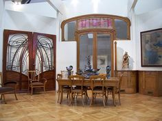 art nouveau furniture -