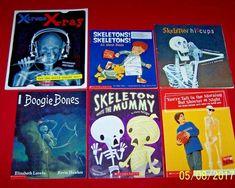 Skeletons! 6 Children's science Health Body books Bones Xtreme Xray Ages 6-10