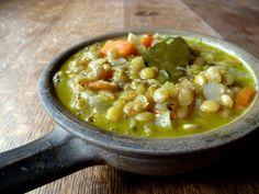 Cider & Green Lentil Stew