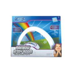 Rainbow in my room.  Your very own rainbow nightlight.