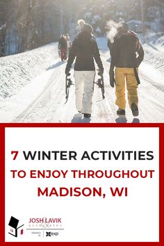 Whether you're new to the Madison area or are a long-time resident, you'll find that the fun doesn't stop even when winter hits! Here are 7 winter activities to enjoy throughout Madison this season. What's your favorite winter activity? Fun Outdoor Activities, Winter Activities, Outdoor Fun, Winter Hiking, Winter Camping, Sledding Hill, Top Ski, Orlando Parks, Hill Park
