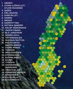 There are 30 national parks in Sweden. You will find more information about each national park in the alphabetical list. About Sweden, Haus Am See, Visit Sweden, Sweden Travel, National Park Posters, Wanderlust, Travel Info, Dream Vacations, Where To Go