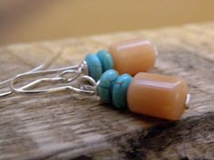 Brie        Pink Opal With Turquoise by ScorpionMoonDesigns