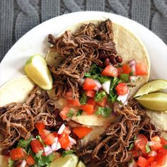 Slow Cooker Barbacoa Beef Recipe