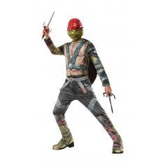Disfraz Raphael Niño Tortugas Ninjas II Fuera de las Sombras #TMNT #Raphael