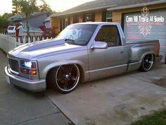 Bagged Trucks, Lowered Trucks, Mini Trucks, Gm Trucks, Cool Trucks, Pickup Trucks, Silverado Truck, Chevy Stepside, Chevy Pickups