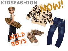Wild boys kindermode | jongens kleding met prins www.justbymanon.nl