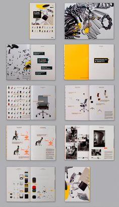 Vitra ID Chair Concept Campaign by Nicole Jacek, via Behance