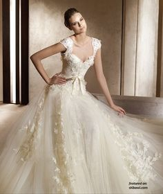 tulle and lace for someone..