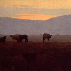 Ellensburg Log | Marc Bohne | oil on canvas.