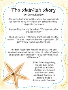 Mind Sparks: The Starfish Story