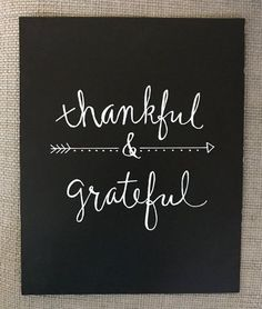 ITEM OVERVIEW - THANKFUL & GRATEFUL ART PRINT Add a little inspiration to your home decor with this THANKFUL & GRATEFUL custom print • Custom Calligraphy / Hand-lettered / Hand-Drawn Chalkboard Paper Print Great for your own fall home decor or just to wish someone else a Happy Fall! • Heavyweight Chalkboard Stock Paper - Print Only - ( Frame not included) (Frame can be added at an additional cost - Message me before buying this listing) • 8x10 • White Chalk Pen This listing ...