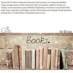 #citazioni: Erri De Luca   #book #reading #quote   @G a i a T e l e s c a   GAIA TELESCA  