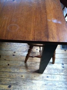 Have you ever removed the table cloth after a festive meal, only to find a hot dish or coffee pot has caused a white water stain on your lovely wood table? Your table is not ruined! Remove Water Rings, Remove Water Stains, Oak Table, Dining Room Table, Water Stain On Wood, Restore Wood, Water Tables, Stained Table, Kid Spaces