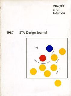 "erikfreer: ""Paul Rand, STA Design Journal cover """