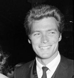 Clint Eastwood candid, 1962.