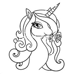 top 50 unicorn coloring pages for toddlers | einhorn malen, einhorn kunst und malvorlagen für